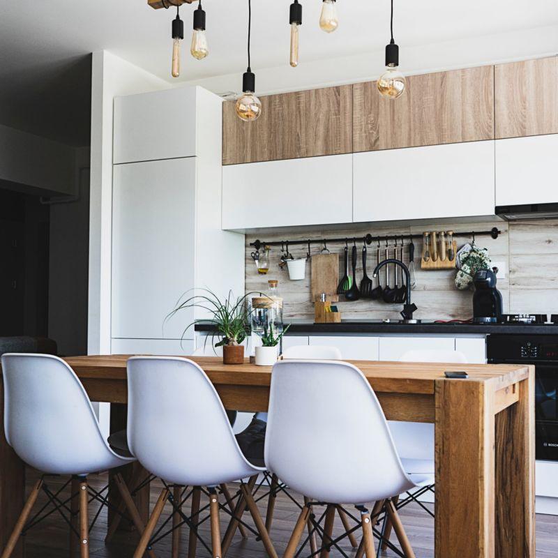 Photo d'une cuisine moderne