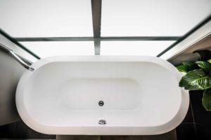 Photo d'une baignoire