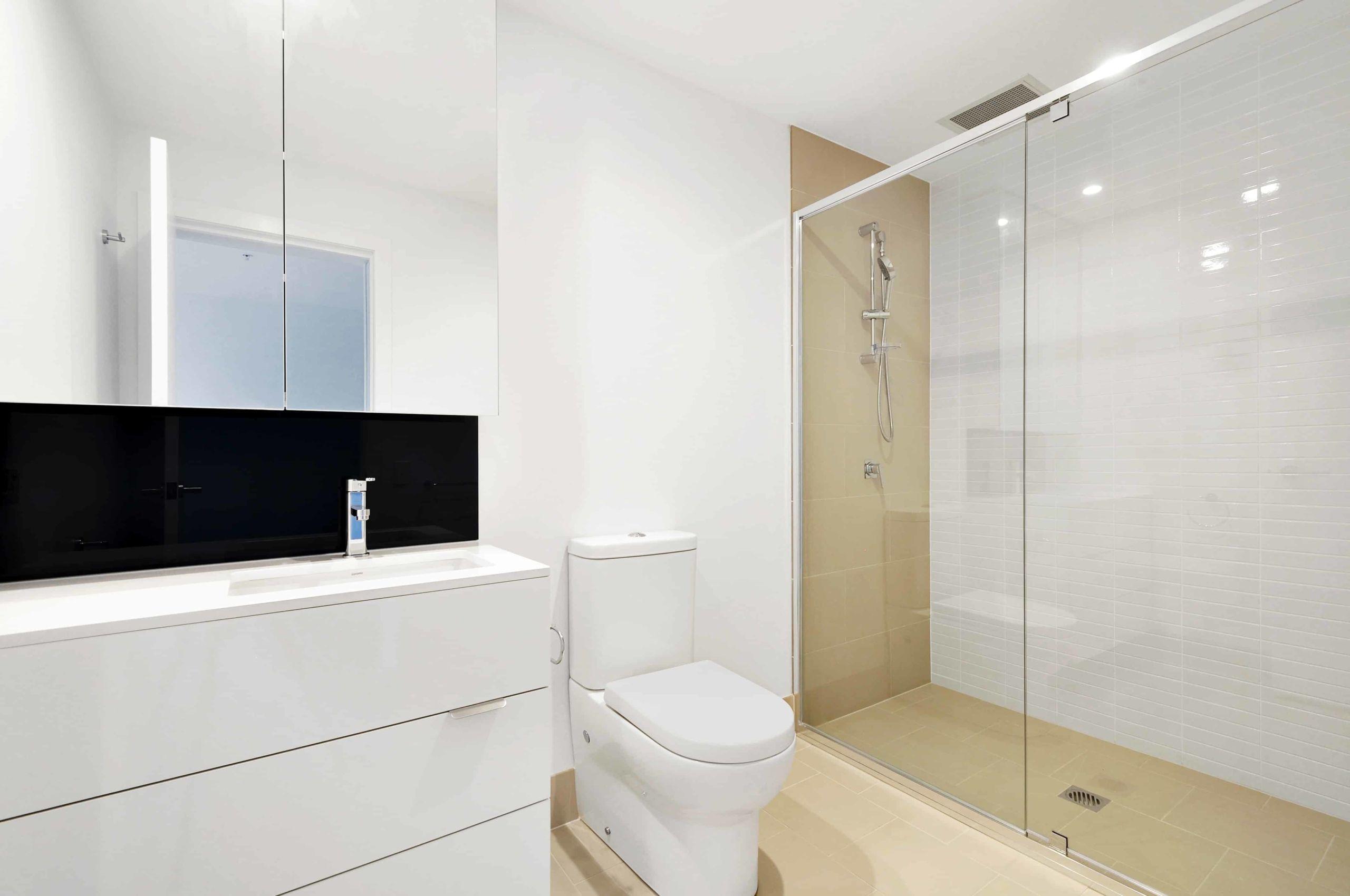 Photo d'une salle de bain moderne
