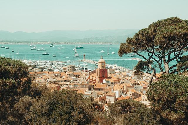 Saint-Tropez paysage
