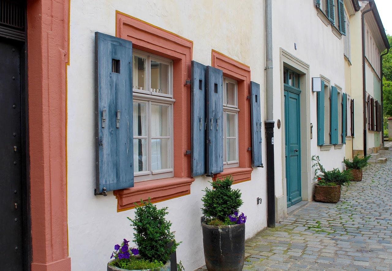 peinture volets locataire ou proprietaire